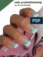 NT nails nagelprodukter för privatkunder 2013