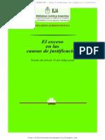 El Exceso en Las Causas de Justificacion