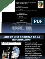 TECNOLOGIA ESTUDIAR Sociedad de La Informacion