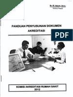 Pedoman Penyusunan Dokumen Akreditasi_2012