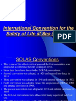 An insight to SOLAS Convention