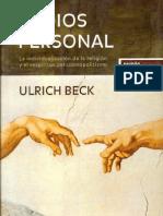 2001 El Dios Personal Ulrich Bech