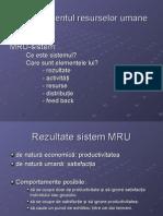 MRU Suport curs 2012 management