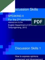 Discussion Skills