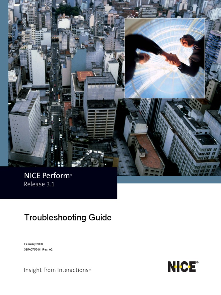 nice perform troubleshooting guide rev a2 internet information rh scribd com