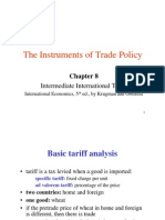 Instruments of Trade Policy (2)
