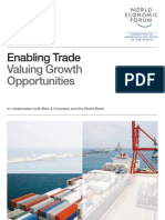 Enabling Trade Report 2013, World Trade Forum