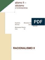 Racionalismo II