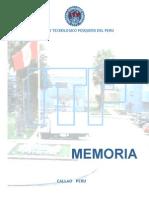 Memoria 2005 Itp