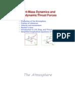 Lec 2 Point Mass Dynamics