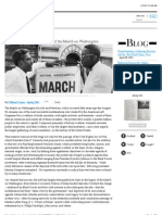 The Forgotten Radical History of the March on Washington
