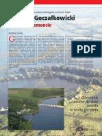 Nowoczesne Bodownictwo Inżynieryjne - Zbiornika Goczałkowice swieżo po remoncie