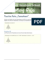 Function Kata Tannenbaum