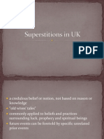 Superstitions in UK