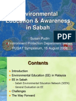 Environmental Education & Awareness in Sabah