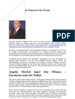 Wladimir Putin als Wegweiser für Europa