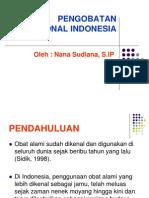 Pengobatan Tradisional Di Indonesia