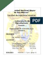 Proyecto de Laboratorio de Manufactura