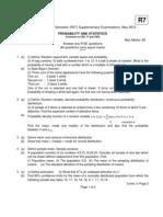 R7210501 Probability & Statistics