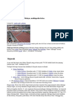 Sejarah Olahraga Wikipedia