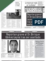 Versión impresa del periódico El mexiquense 14 mayo 2013