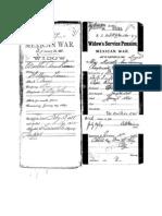 Widow's Pension Application of Martha Ann Lime