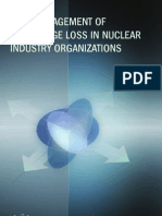 Risk Management Od Knowledge Lossin Nuclear Industry Organizations