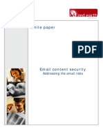 Email Content Security White Paper