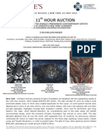 The 11th Hour totaled $38.8M - THE MOST IMPORTANT WILDLIFE CHARITY AUCTION EVER STAGED