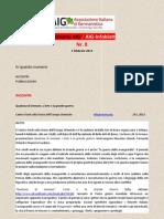 Notiziario AIG Nr.8