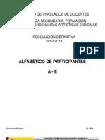 2013 Resolucion Definitiva Secundaria Fp Ea Idiomas a e
