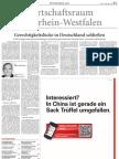 Wirtschaftsraum Nordrhein-Westfalen