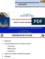 Progress of Refinery and Associated Infrastructure Development in Uganda.pdf
