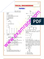 IES Electrical Engineering Paper 1 2000