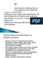 IHRM Staffing Lecture 3