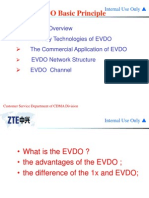 EVDO Basic Principle
