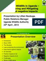 Oil and Wildlife in Uganda