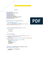 Programm for Edit