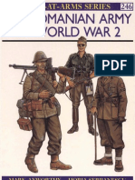 Osprey, Men-At-Arms #246 the Romanian of Army World War 2 (1991) OCR 8.12