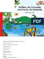 Sniffles the Crocodile and Punch, The Butterfly - English