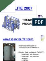 PV Elite Training Presentation(2007)