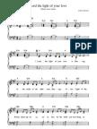 hymn - Shine Jesus Shine Sheet Music