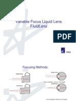 Fluid Lens
