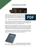 La Biblia un Best Sellers