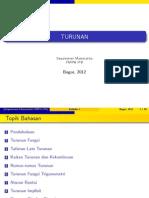 4 Turunan - Handout.pdf