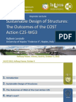Sustainable Design of Structures