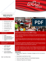 The Monthly News Letter of the Sri Lanka Red Cross Society - Colombo Branch (April 2013)