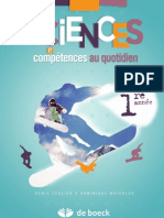 Sciences et compétences au quotidien 1re