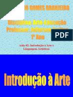 2aula- Introducao a Arte