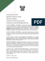 RESUMO CONTRATOS REVITALIZAÇÃO MUSEU CÂMARA CASCUDO E RECUPERAÇÃO  FORTE REIS MAGOS